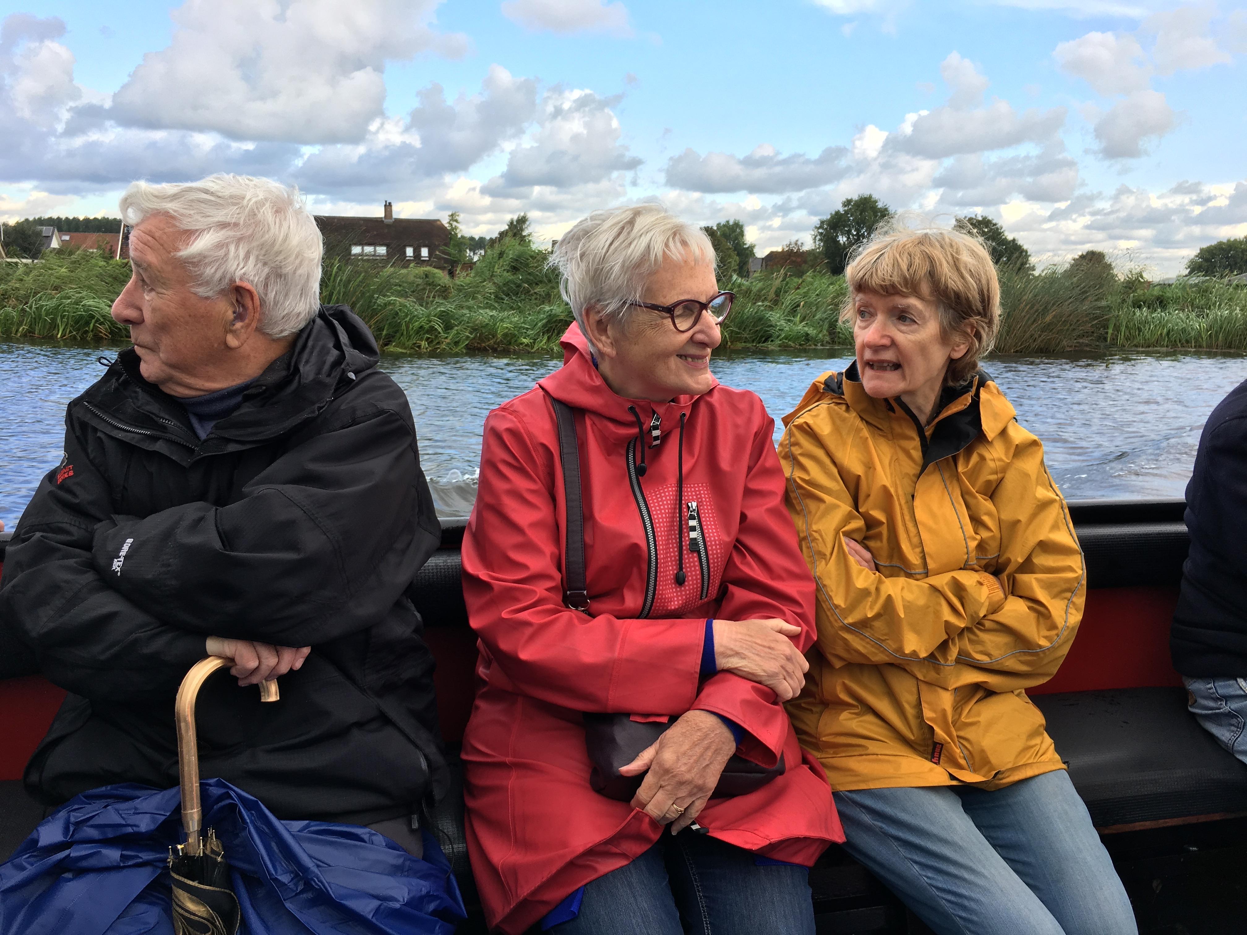Dick, Yvonne en Bertie
