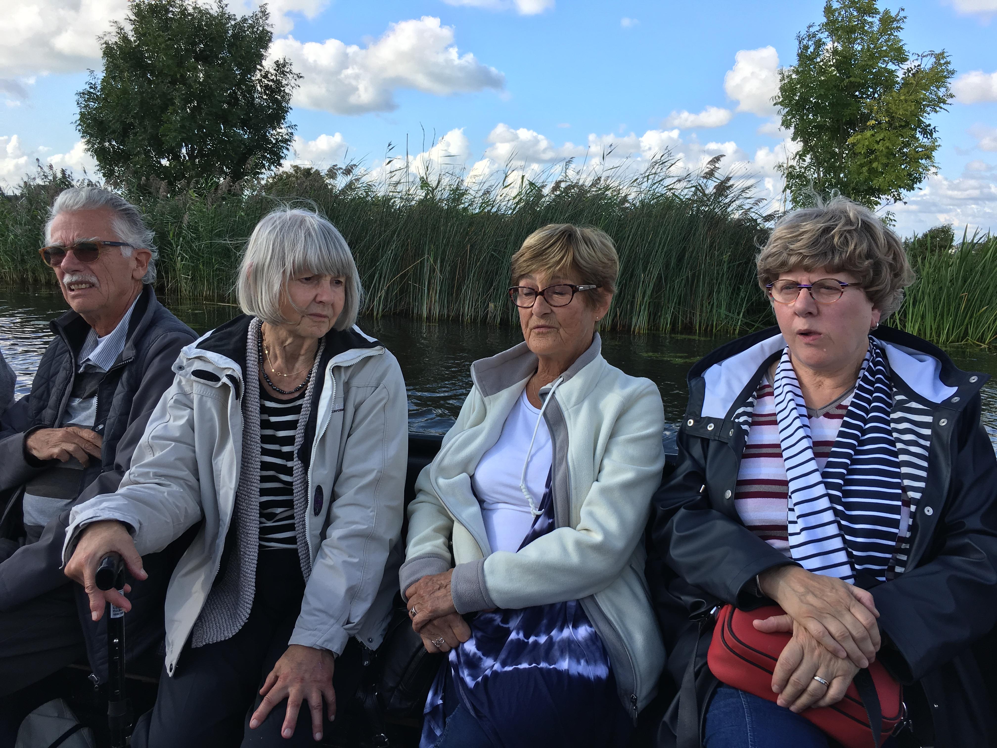 Fred vd V, Andy, Tineke en Brigitte