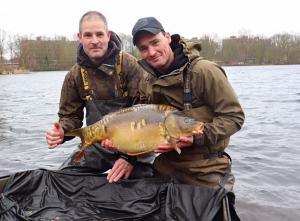 """Marcel en Erik met """"The King"""" op 8,5 kg"""