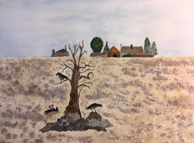 Nel Dulfer: Dor veld in Duitsland